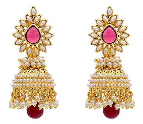 Indian Bollywood Beautiful Pearls Polki Stylish Fancy Par... https://www.amazon.com/dp/B01L58TGVE/ref=cm_sw_r_pi_dp_x_unYHyb3XGGSB8