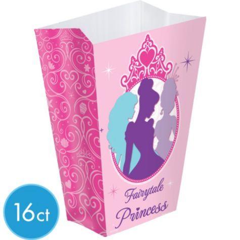 Disney Princess Favor Boxes 16ct - Party City