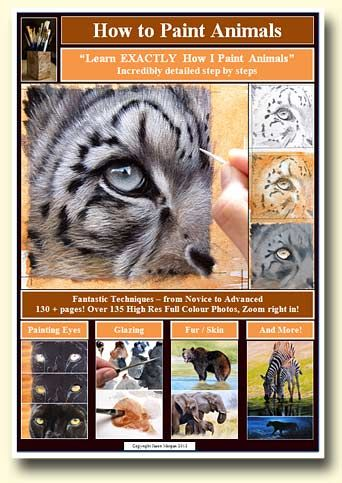 New learn to paint animals book