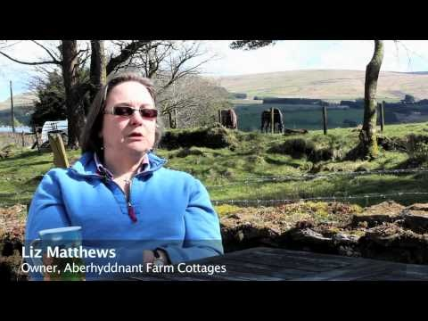 A tour of the wonderful Aberhyddnant farm cottages in the glorious Brecon Beacons National Park