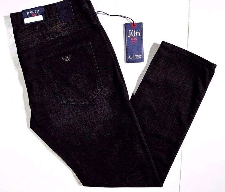 Armani Jeans slim skinny men's J06 size 38X32 light poly/cotton NEW on SALE #ArmaniJeans #Skinny