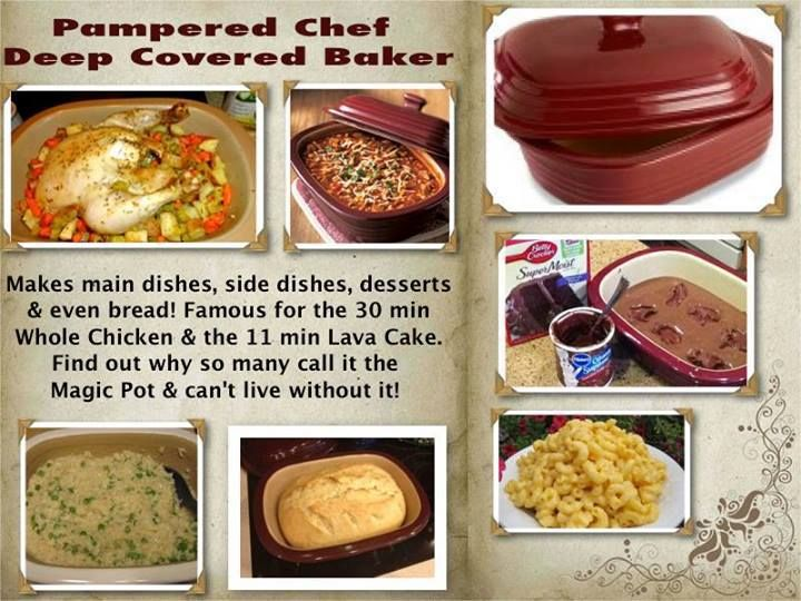 Pampered Chef Stoneware Fluted Pan Microwave Cake Recipes