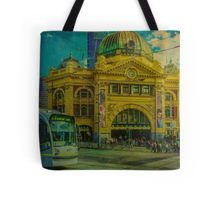 The Cyclist, Toorak Tram and Something Different Tote Bag