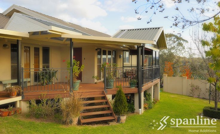 All Spanline Patios and Verandahs can be customised to perfectly suit your existing home.  Contact your local store for a FREE quote today.