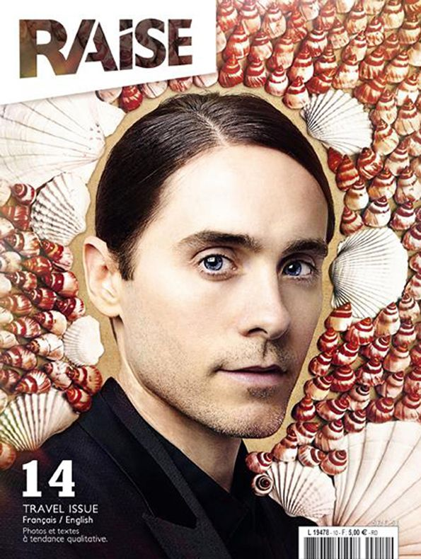 Cover Raise Magazine Issue #14 with Jared Leto #JaredLeto