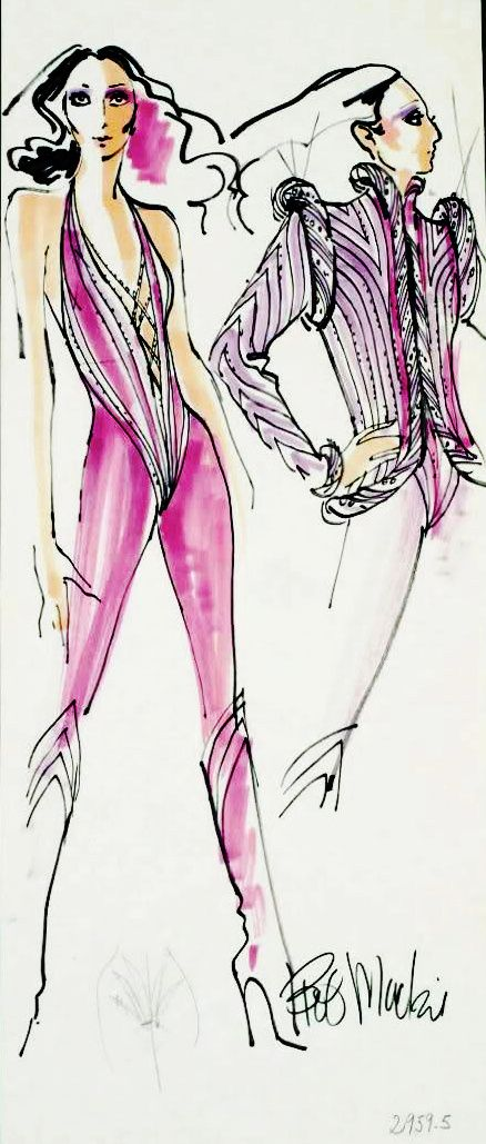 Cher concert outfit by Bob Mackie