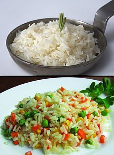 Рис на гарнир: как его можно приготовить и разнообразить / Простые рецепты