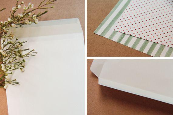 Chrystalace Wedding Stationery Envelope DIY