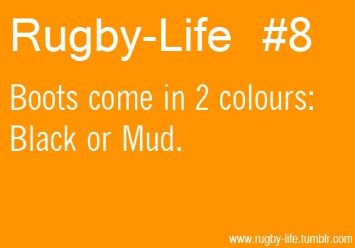 Boot colours. - For the best rugby gear check out http://alwaysrugby.com