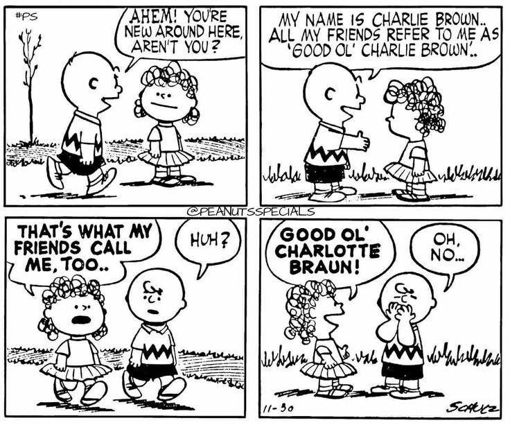 Peanuts Cartoon Ts