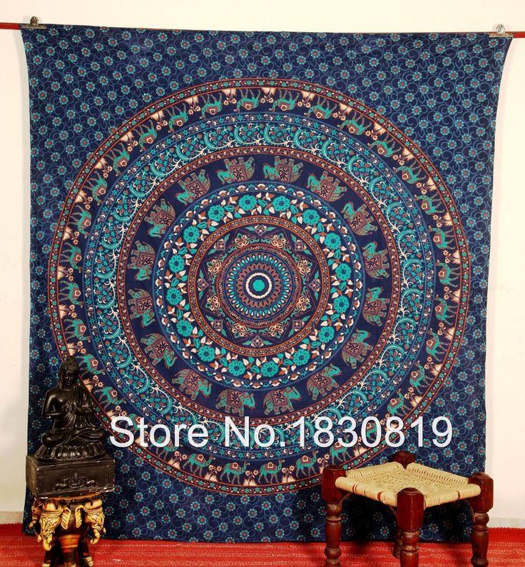 Goedkope Indian blauwe bohemien wandtapijten, hippie muur opknoping, psychedelische tapijt, laken( queen size, 100 % premium kwaliteit)., koop Kwaliteit Vel rechtstreeks van Leveranciers van China: Van harte welkom om onze winkel +Een- stop- winkel voor indiase wandtapijten/quilts!Met de hand geplukt en exclusi