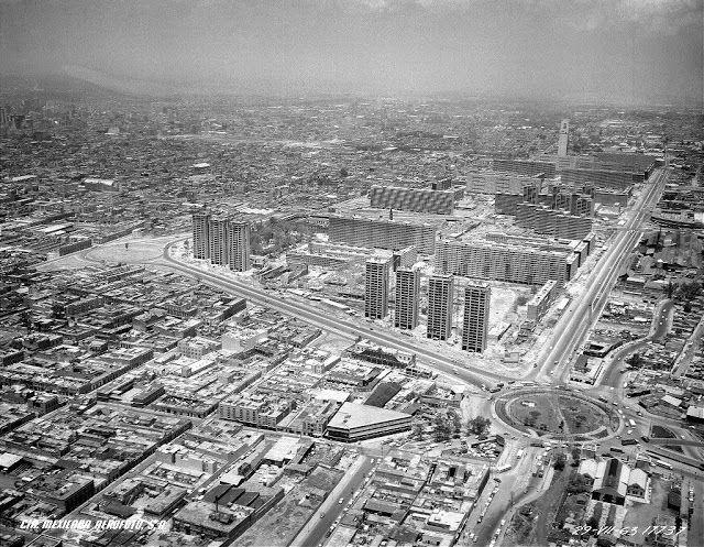 Vivir en Tlatelolco: Paseo de la Reforma Norte en el total abandono