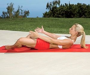 Five moves to tighten your lower tummy problem. (Or I like to call the mommy tummy!!)