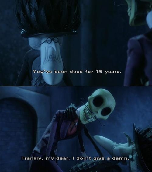 Hahahaha awww one of my favorite scenes. In spanish 'Y aún así querida no te he olvidado' :3