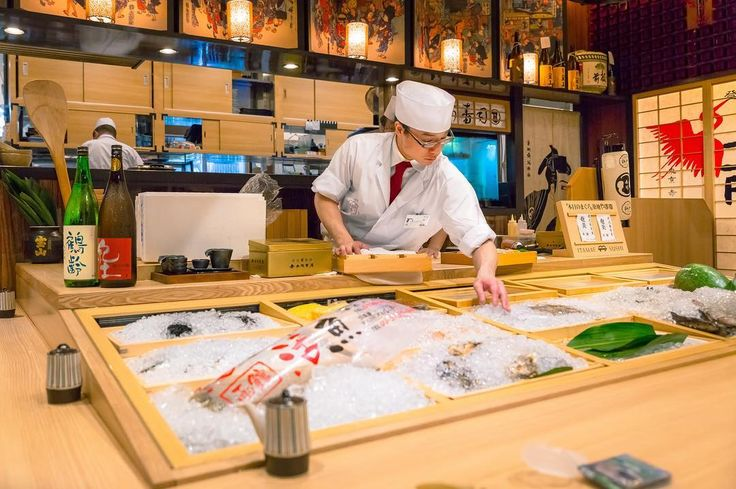 With a traditional yet modern Japanese interior you can watch the sushi masters prepare and serve every sushi dish at Itamae Sushi Edo in Akasaka Mitsuke. An experience and taste not to be missed! - - #itamaesushiedo #itamaesushi #yummyjapan #sushi #sashimi #nomnom #foodlove #happytummy #goodeats #travelphoto #tastespotting #feedfeed #buzzfeast #f52grams #huffposttaste #explorejapan #foodism #eatstagram #foodcoma #eats #igfood #yougottaeatthis #igfoodie #instayum #asianfood #lovefood…