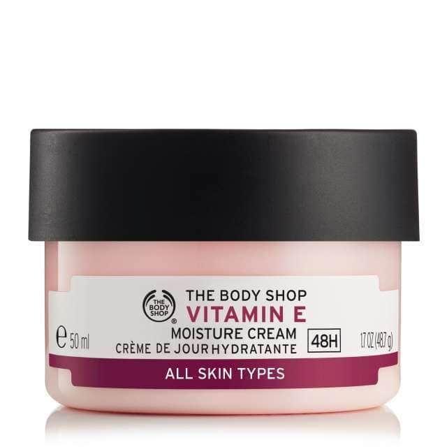 Vitamin E Moisture Cream Dry Skin On Face Body Shop Vitamin E The Body Shop