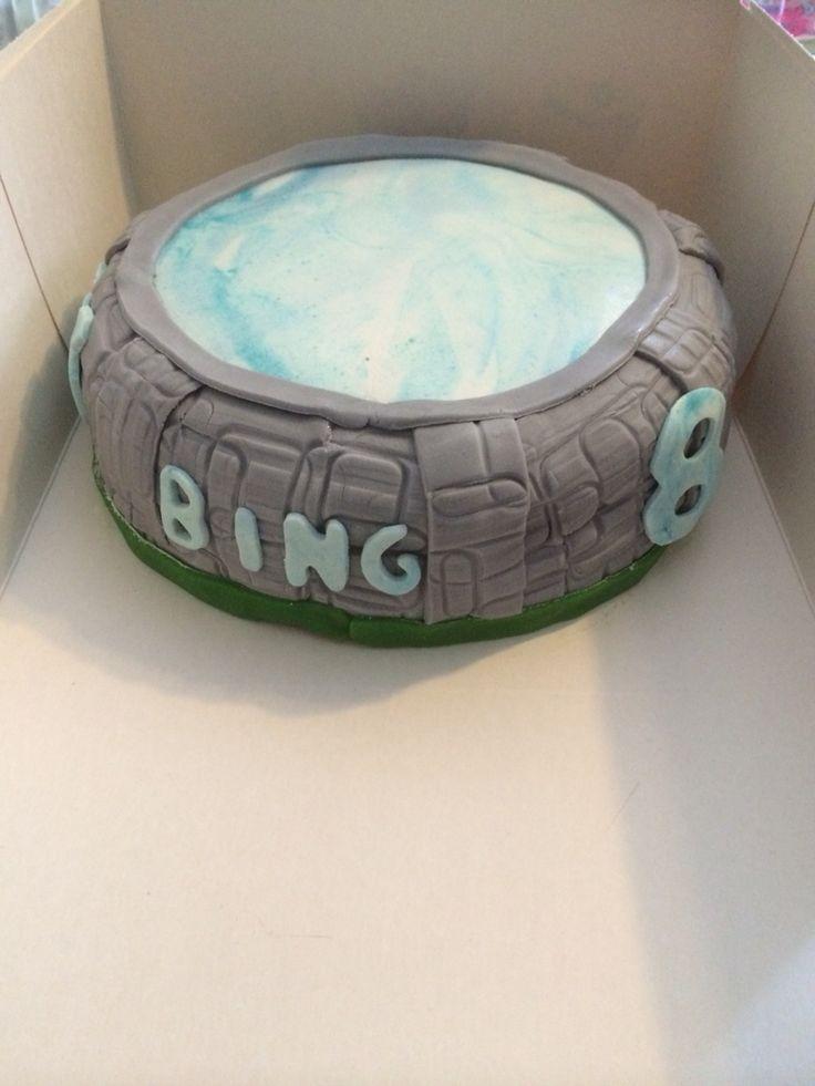 Skylanders Portal taart