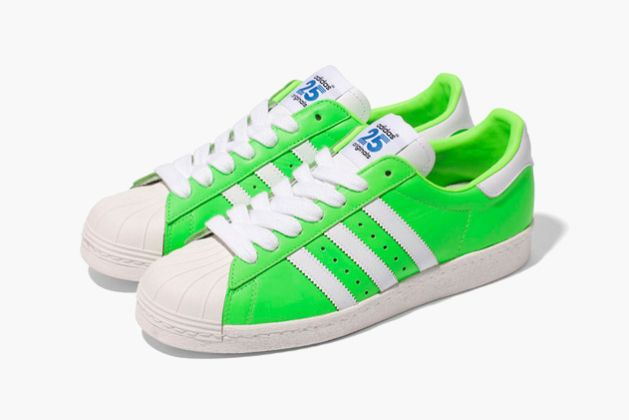 Adidas Superstars Neon