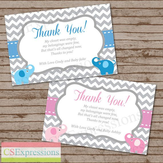 17 best Baby shower images on Pinterest Baby shower thank you - baby shower thank you notes