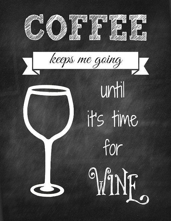 chalkboard coffee keeps me going until its time by BIGSISLILSIS4, $10.00
