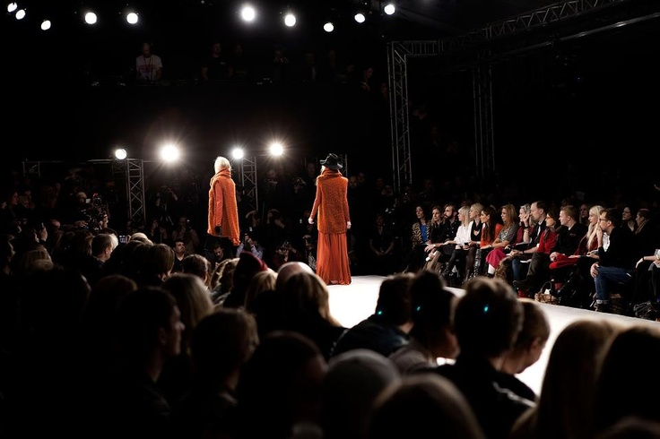 The show is on.  Behind the Scenes of Fashion show AW 2012