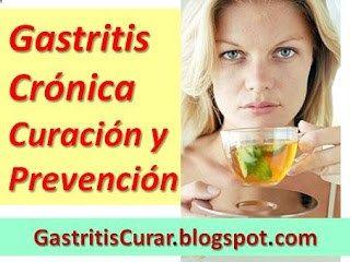 Gastritis Crónica Curación y Prevención: Tratamiento Natural de la Gastritis Crónica y Nerviosa.