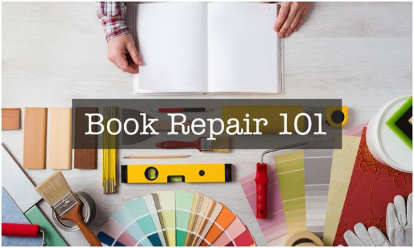 Need some basic book repair help? We've got you covered! Get rid of price sticker residue and more.