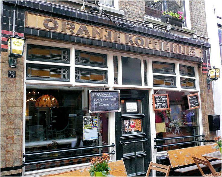 Het Oranje koffiehuis #StoreExterior