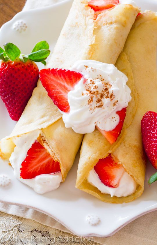 Here is exactly how to make crepes at home! They're so simple. Really!