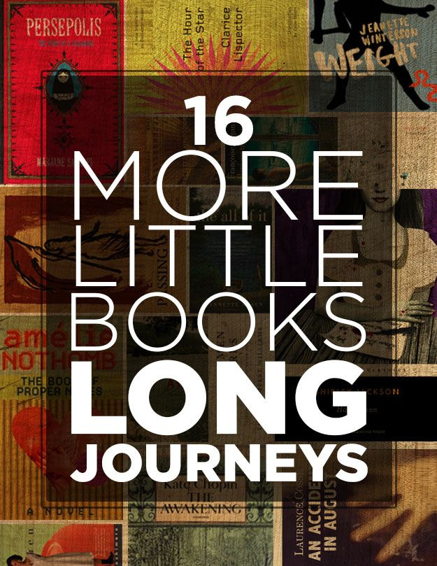 16 More Little Books For Long Journeys
