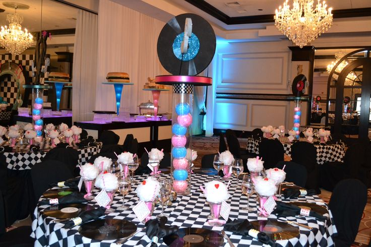 50 39 s themed event decor party perfect boca raton fl 1 561 for 1950s party decoration