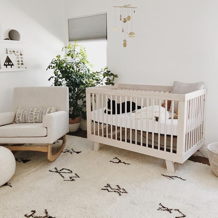 Neutral modern nursery