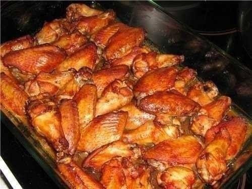 Куриные крылышки хрустящие в духовке