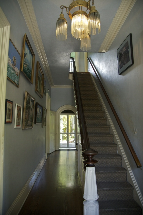 La maison d'Hemingway à Key West - Couloir