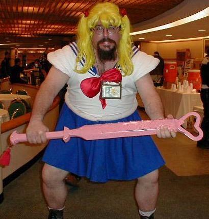Sailor moon men cosplay