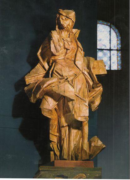 Saint Anne, 1761 Johann Georg Pinzel