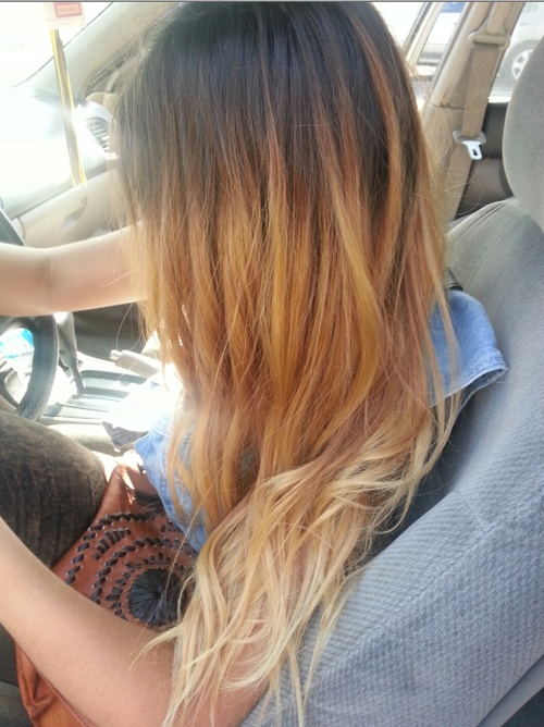 I want my hair like this thinking if i just let it grow out it will look like this