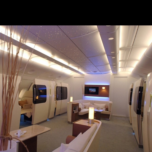 Qantas A380 First Class - Wish I could afford this... One Powerball!!