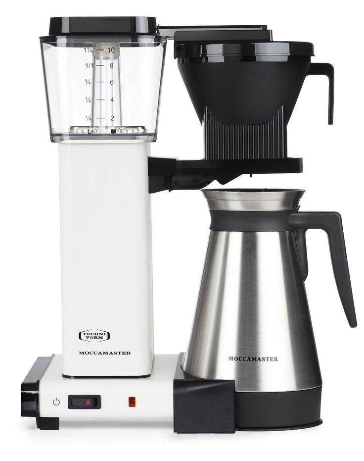 Moccamaster Kbgt 741 Uk Plug Filter Coffee Machine 1 25 Litre 1450 W