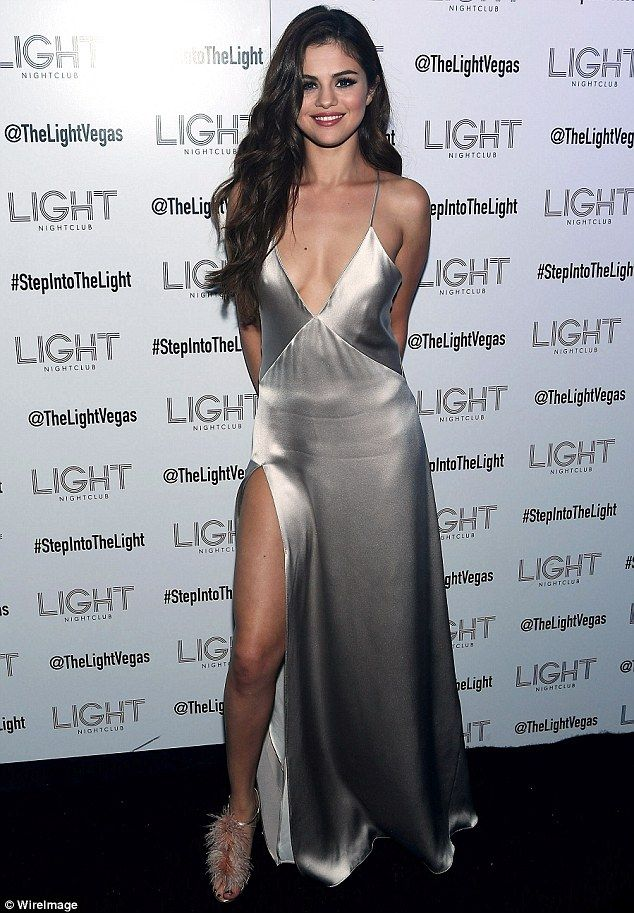Hot metal: Selena Gomez was a stunning sight at the after-party for her Revival Tour kick-...