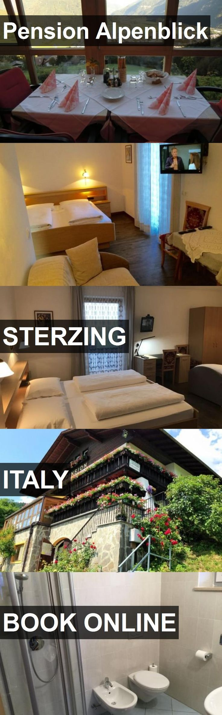 Hotel Pension Alpenblick in Sterzing, Italy. For more information, photos, reviews and best prices please follow the link. #Italy #Sterzing #travel #vacation #hotel