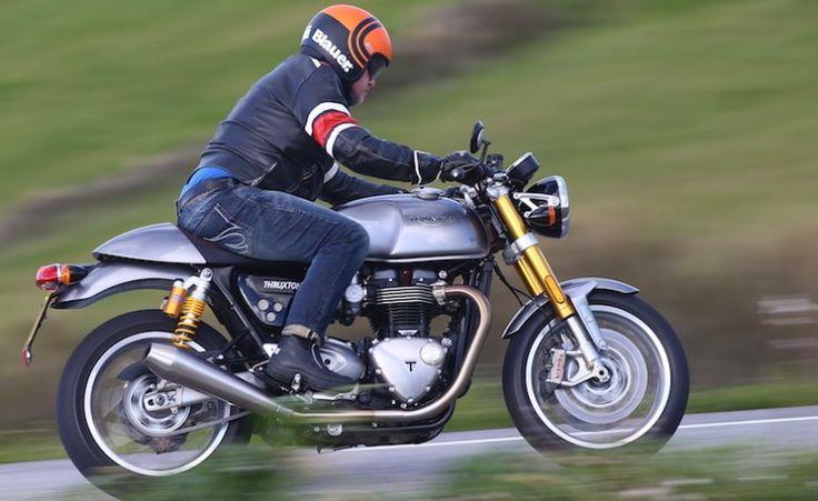 Actu Moto - Triumph Thruxton