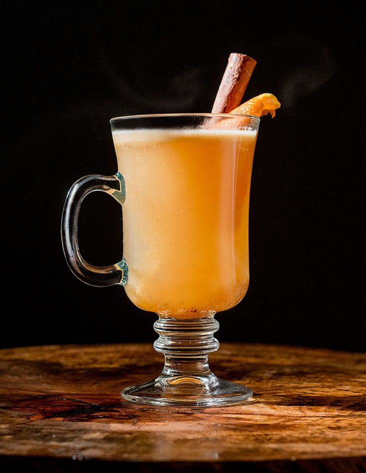 Hot Conner Browne - a warm, buttery rum drink from Tupelo Honey