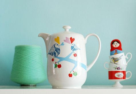 Teapot by Ninainvorm, very adorable indeed!