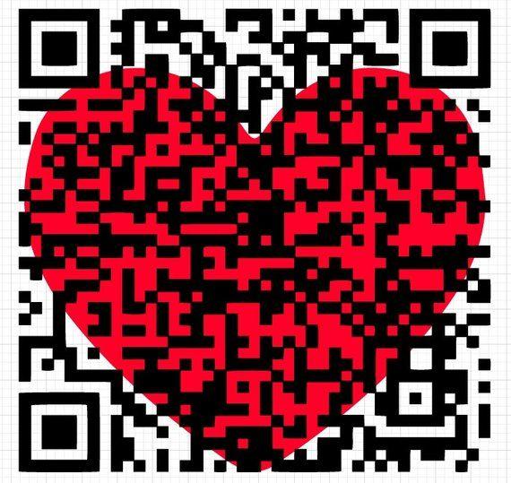 Download QR code svg congratulations gift valentine svg love heart ...