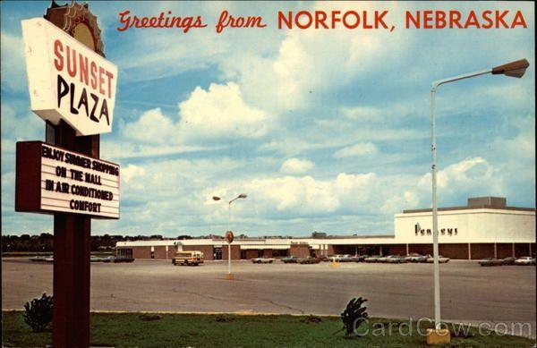 Sunset Plaza Mall Norfolk Nebraska