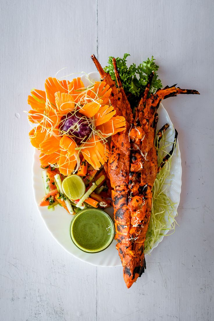 Goa's 50 best meals: Tandoori lobster at Zeebop By The Sea, Goa. Photograph: Adriaan Louw