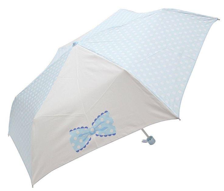 Lovely Very Light Folding Umbrella Purple Woman Girl Compact Kawaii Japan FS #Unbranded #CompactFolding