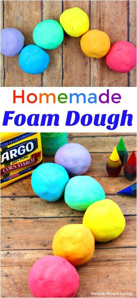 How to Make The Best Shaving Cream Play dough Recipe – Easy Foam Dough