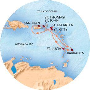 489 7 Nights Mar 18 25 San Juan Pr Rt St Thomas